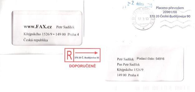 Invio di lettere for Indirizzo postale
